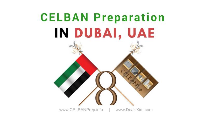 CELBAN Preparation in Dubai, UAE, United Arab Emirates