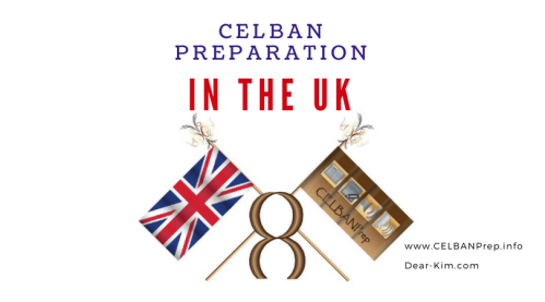 CELBAN Preparation in the UK