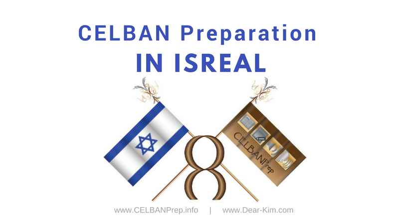 CELBAN Preparation in Israel