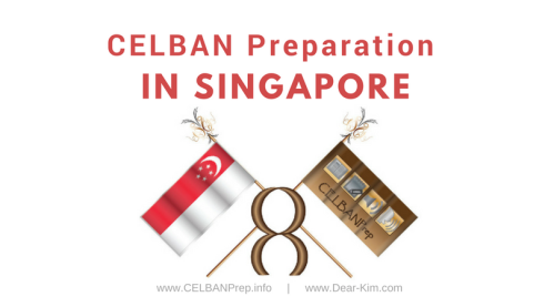 CELBAN Preparation in Singapore