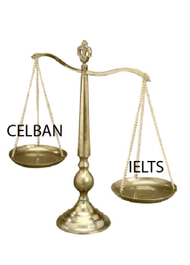 IELTS or CELBAN
