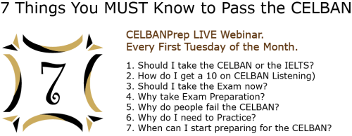 7 Things You MUST Know to Pass the CELBAN