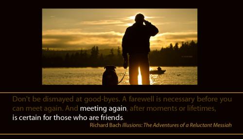 Meeting again is certain