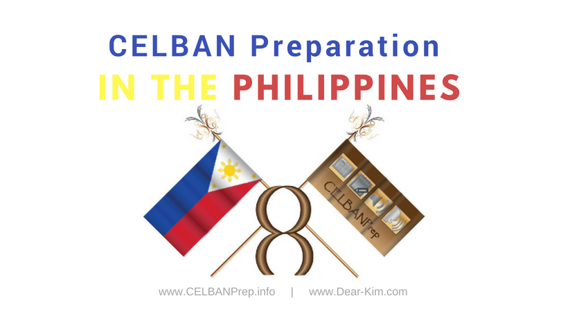CELBAN Preparation in the Philippines