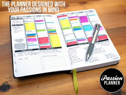 Learn more about Passion Planners