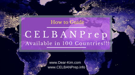 CELBAN Prep available in 100 Countries