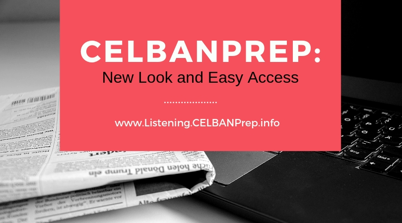 celbanprep new look and easy access